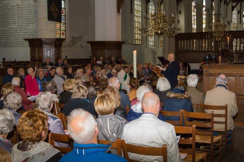 2017-09-24 Vredesdienst Grote Kerk Mirjam en Thom (13) Peter Vreeswijk