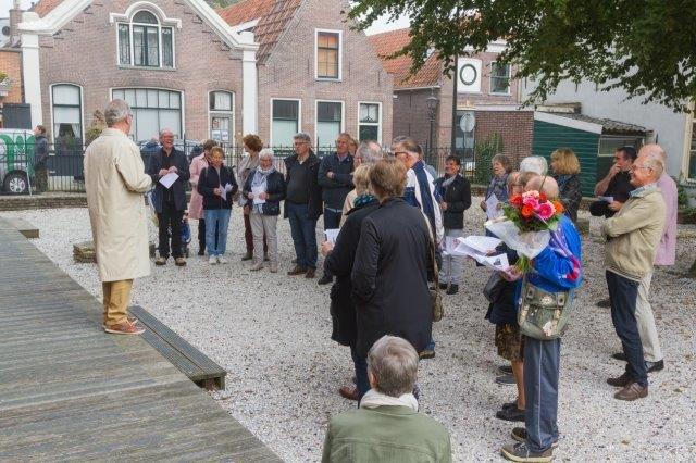 2017-09-24 Vredesdienst Grote Kerk Mirjam en Thom (19) Peter Vreeswijk