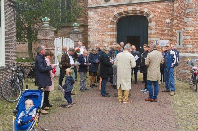 2017-09-24 Vredesdienst Grote Kerk Mirjam en Thom (17) Peter Vreeswijk