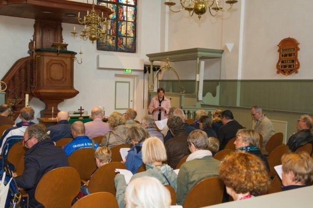 2017-09-24 Vredesdienst Grote Kerk Mirjam en Thom (21) Peter Vreeswijk